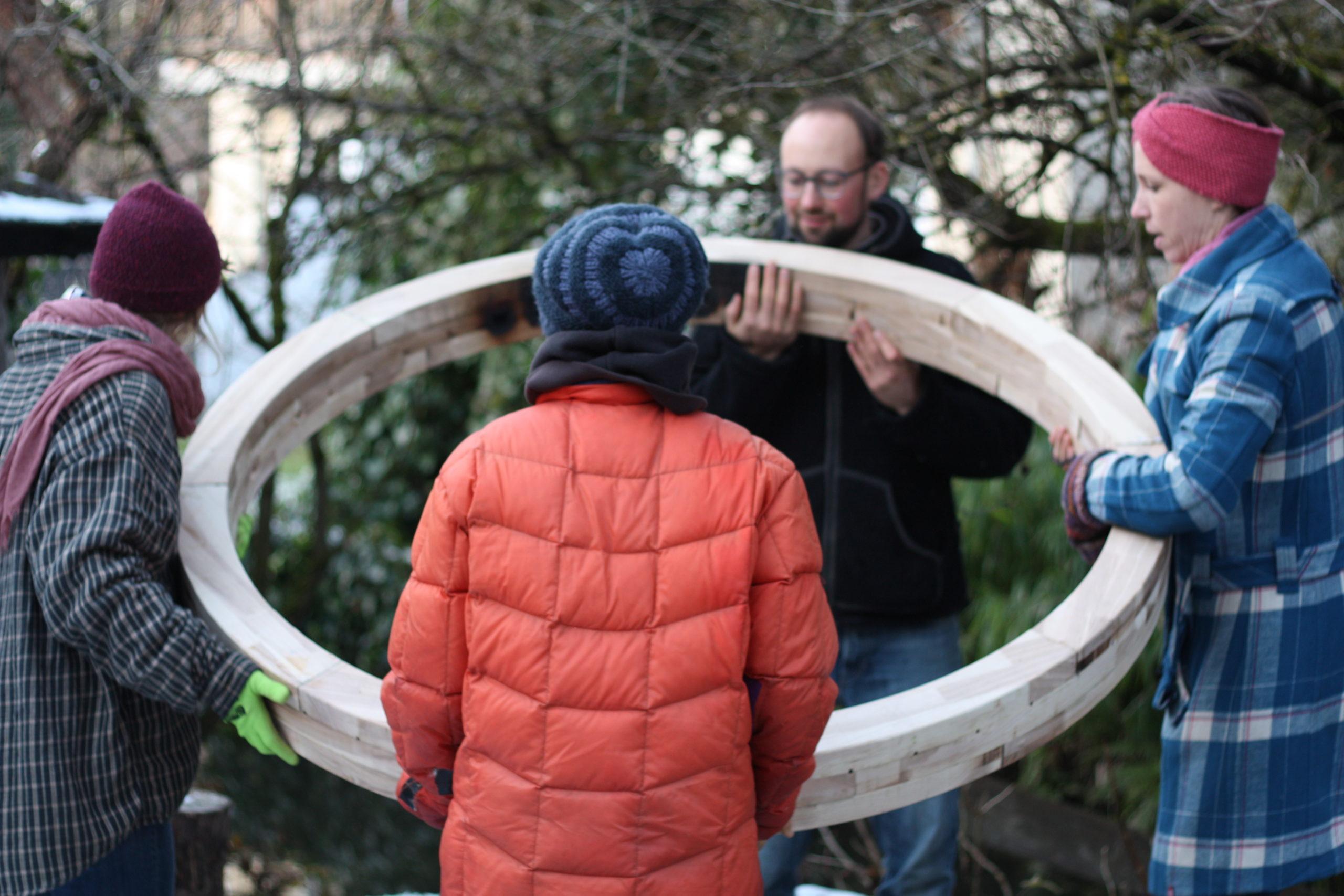 JURTL – Wir bauen eine Jurte für Grafing!